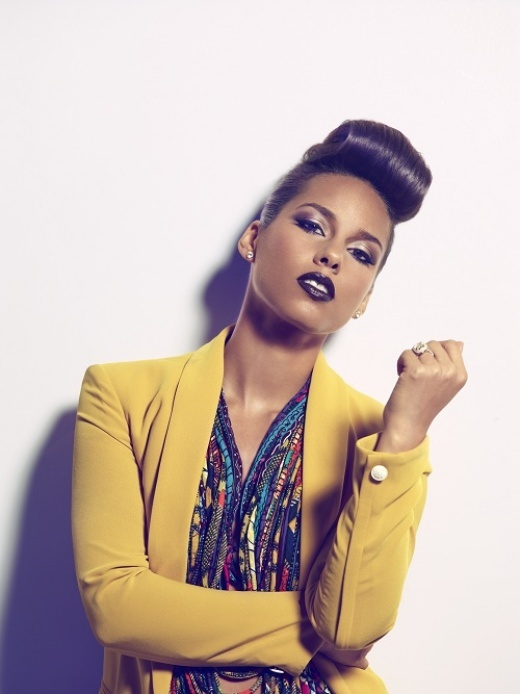 From Google: Alicia Keys wearing Christie Brown Ghana