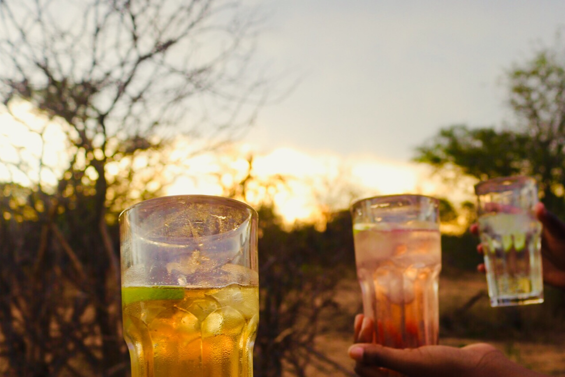 Gin and tonic in the Greater Kruger with my BaFaFa and her sister friends. #GetYouABestieWhoStopsDrinkingToLetYouCaptureTheMoment #notahashtag #alifechoice - Greater Kruger, South Africa