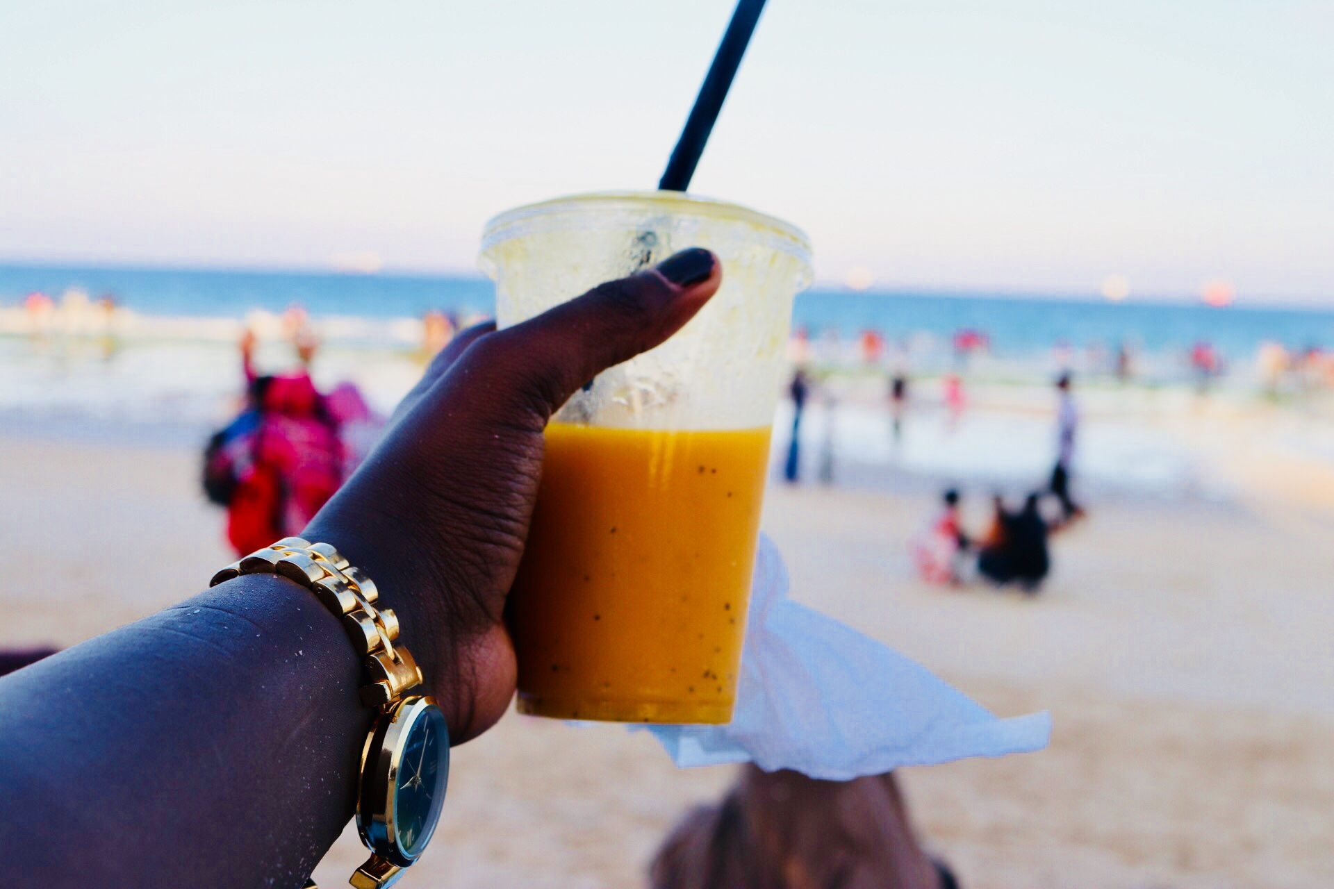 The best juice in Dar es Salaam! That @Makjuice_tz mix yo! It's life! - Coco Beach, Dar es Salaam, Tanzania