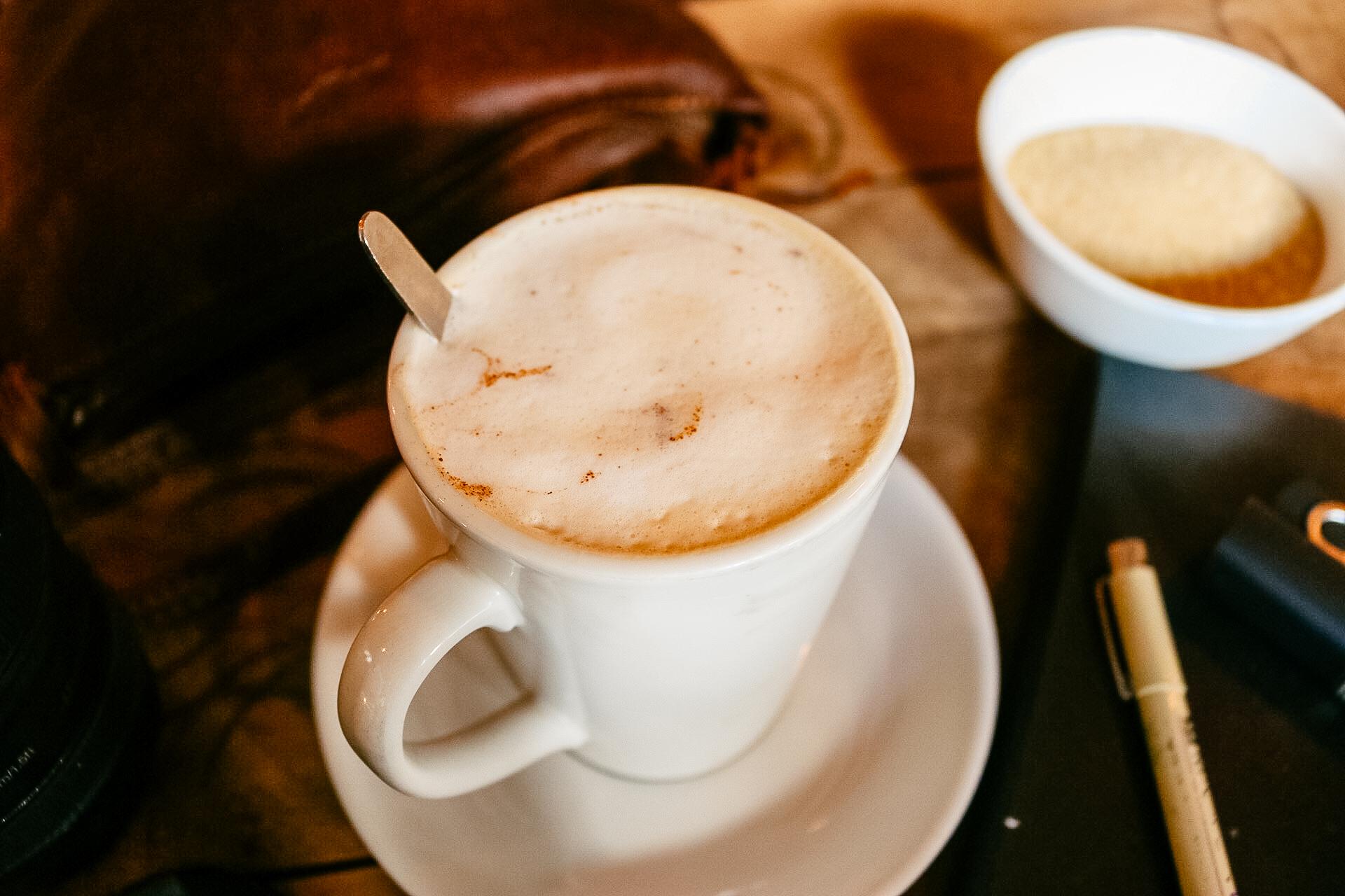 chai at Haas coffee