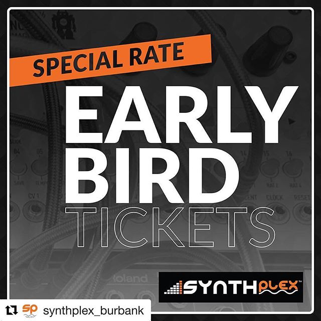 """We have the honor of playing this event! Come check out some fantastic performances, vendors, and mess around with some cool gear! 😎🎛 #Repost @synthplex_burbank with @get_repost ・・・ Did you get your tix yet??? . Exhibits + Seminars + Live Electronic Music + Pop-Up Synth Museum + DIY Synth Build + Gala Banquet  Synthplex is a brand new annual """"All Things Synthesizer"""" festival/ event that you have been waiting for! Synth enthusiasts rejoice! We are bringing you great experiences and events such as; Trade Show Exhibits (where you can buy gear!!), Educational & Technology Seminars, Synthesizer History Lectures, Master Q&A Sessions with Industry Legends (synth & keyboard performers, soundtrack composers, sound designers, legendary synth designers, etc.), DIY synth building workshops, Live Synth Concerts all weekend long, a Pop-up Synth Museum featuring some rare synths that you can touch and also a Gala Dinner Banquet with live performance by Thomas Dolby and a keynote speaker. . #synthplex #synthplex2019 #synth #synthesizer #modularsynth #modularsynthesizer #vintagesynth #guitarpedals #guitareffects #electronicmusicproducer #electronicmusician #liveperformance #musicconvention #lamusicians #discounttickets #moog #korg #boss #roland #electronicmusic #live #forwardliveduo #march #march2019"""