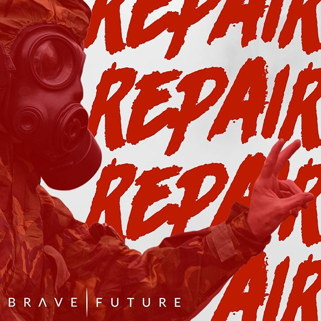 """The new single """"Repair"""" is available now on all major music outlets. Check it out."""