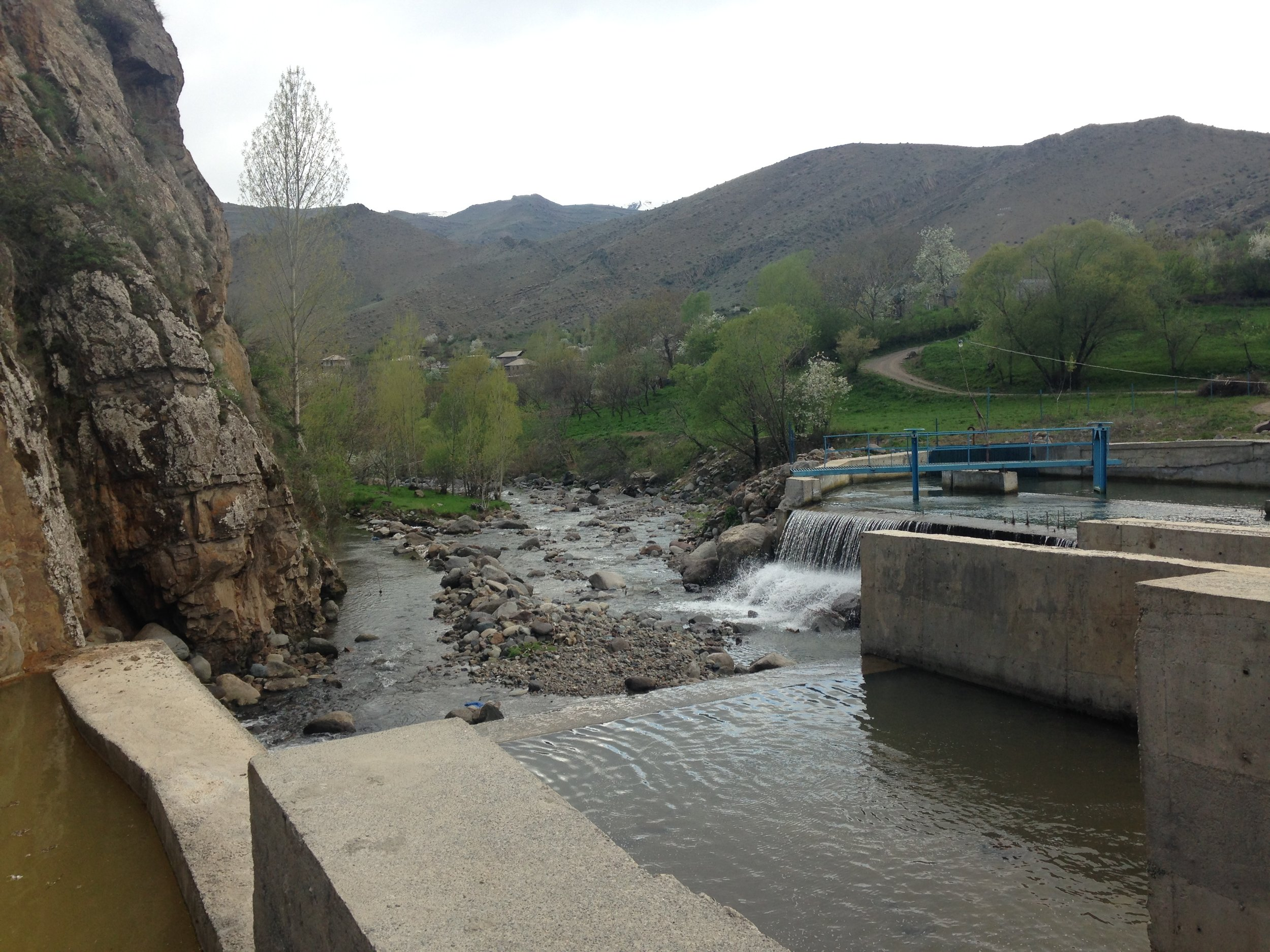 Hydropower plant in Yeghednadzor