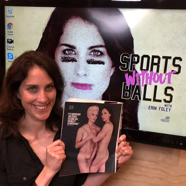 Erin and her ESPN Body Issue ft. Megan Rapinoe & Sue Bird.