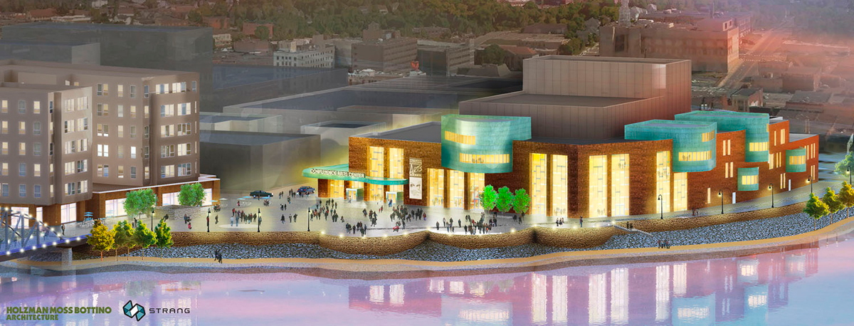 Confluence Center for The Arts Rendering