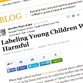 Labeling Young Children With 'Word Gap' Language Is Harmful - When high school student Coby Burren noticed slaves referred to as