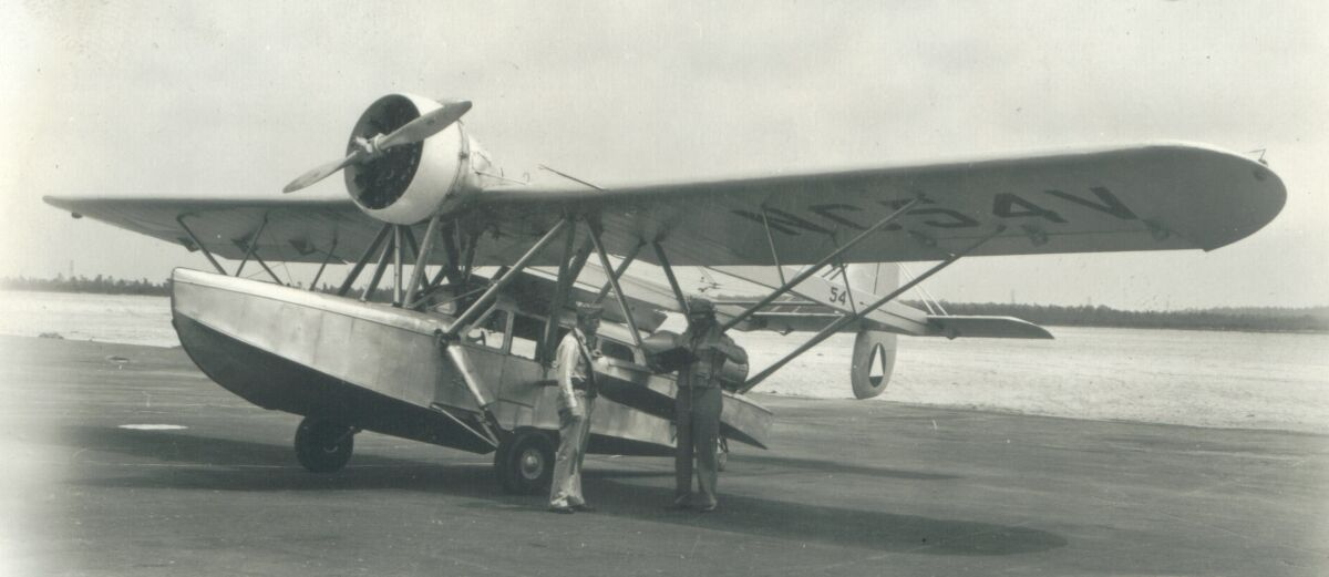 US Army Air Force Photo of a Civil Air Patrol S-39 similar to the plane that crashed in Coxsackie.