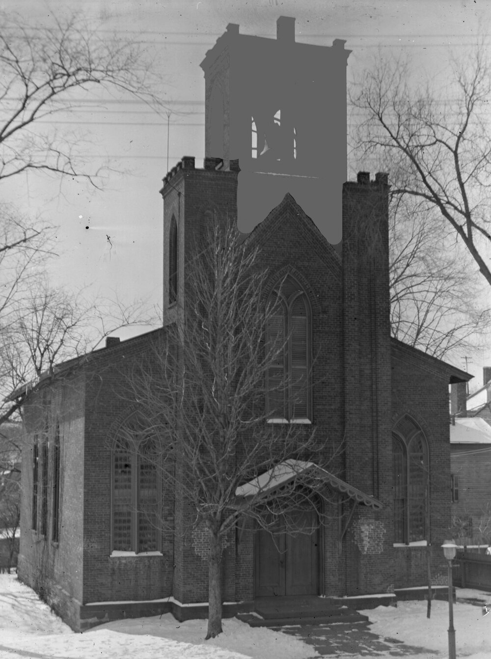 "St. Lukes in 1896, but with the yucky ""Non-Thomas Cole"" parts tastefully subdued as though some charlatan had never decided to add to the Cole-designed edifice in the first place."