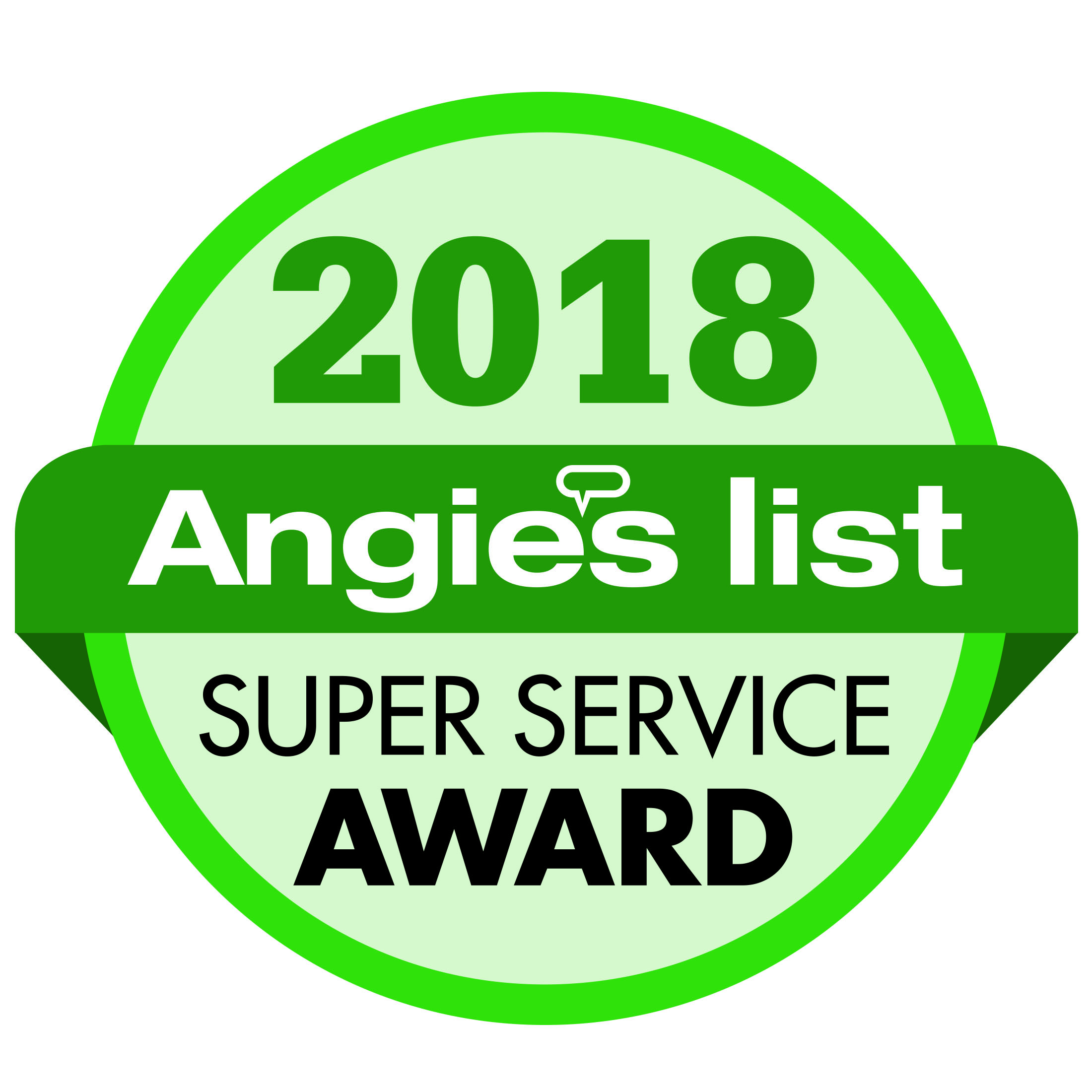 Angie's List Super Service Award Winners for 8 Years