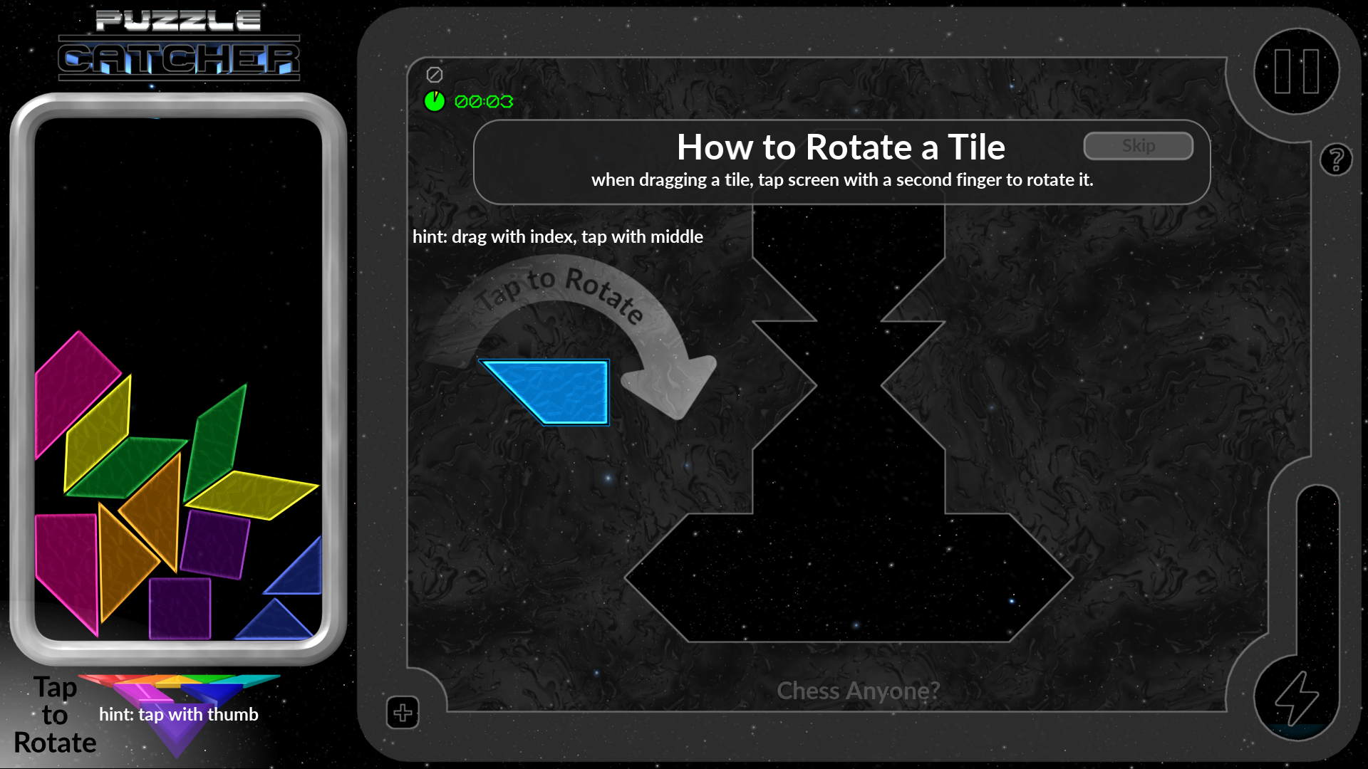 Tile Rotation Training - It Takes a Little Practice
