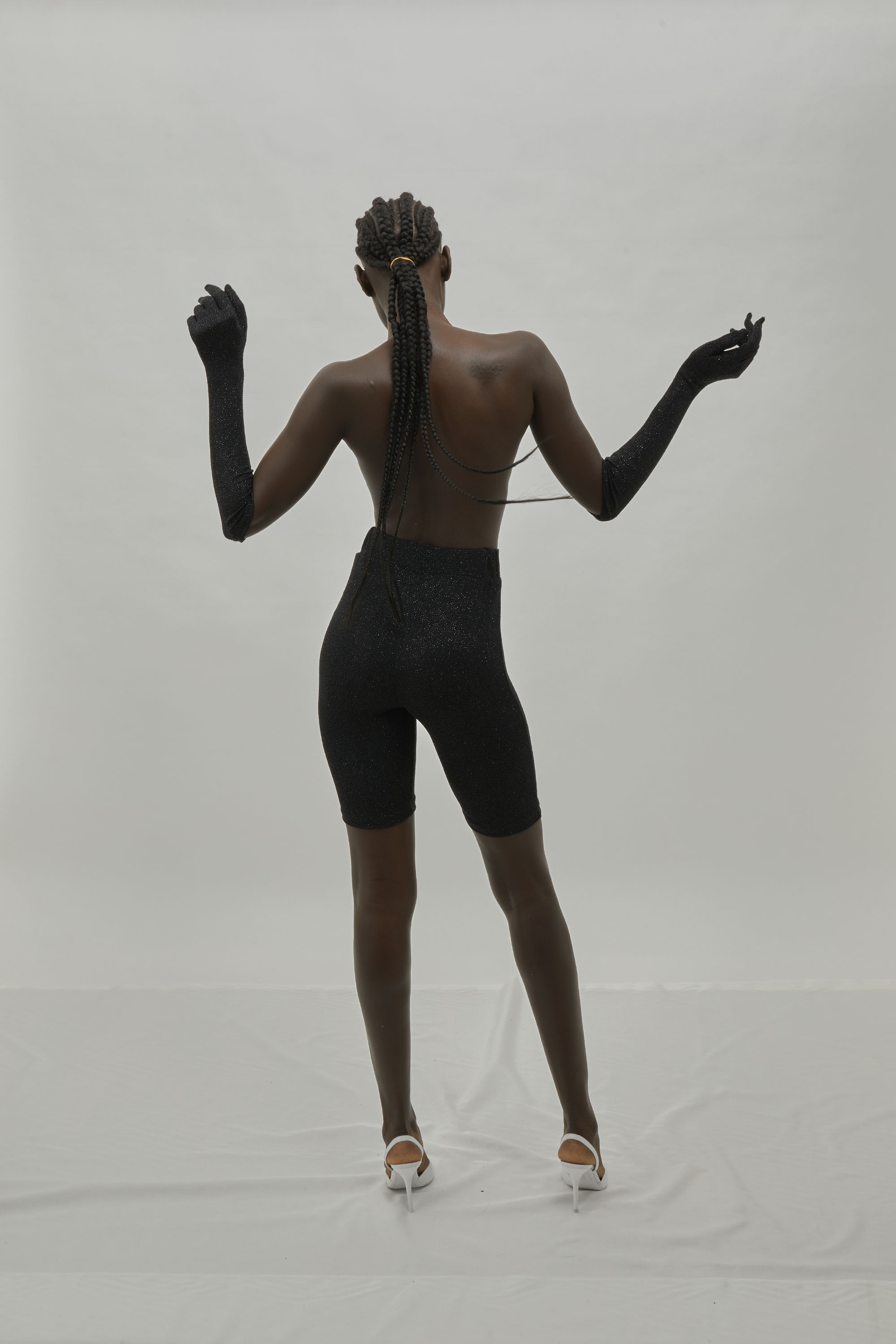 Novelty Bike Short With Matching Gloves. Look From One DNA FW19.