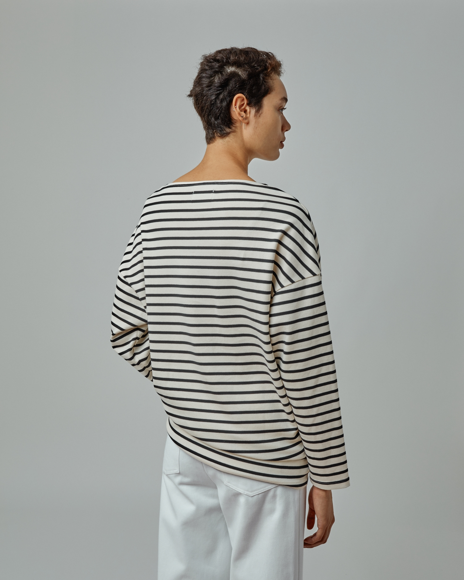Oversized Long Sleeve T-Shirt By One DNA