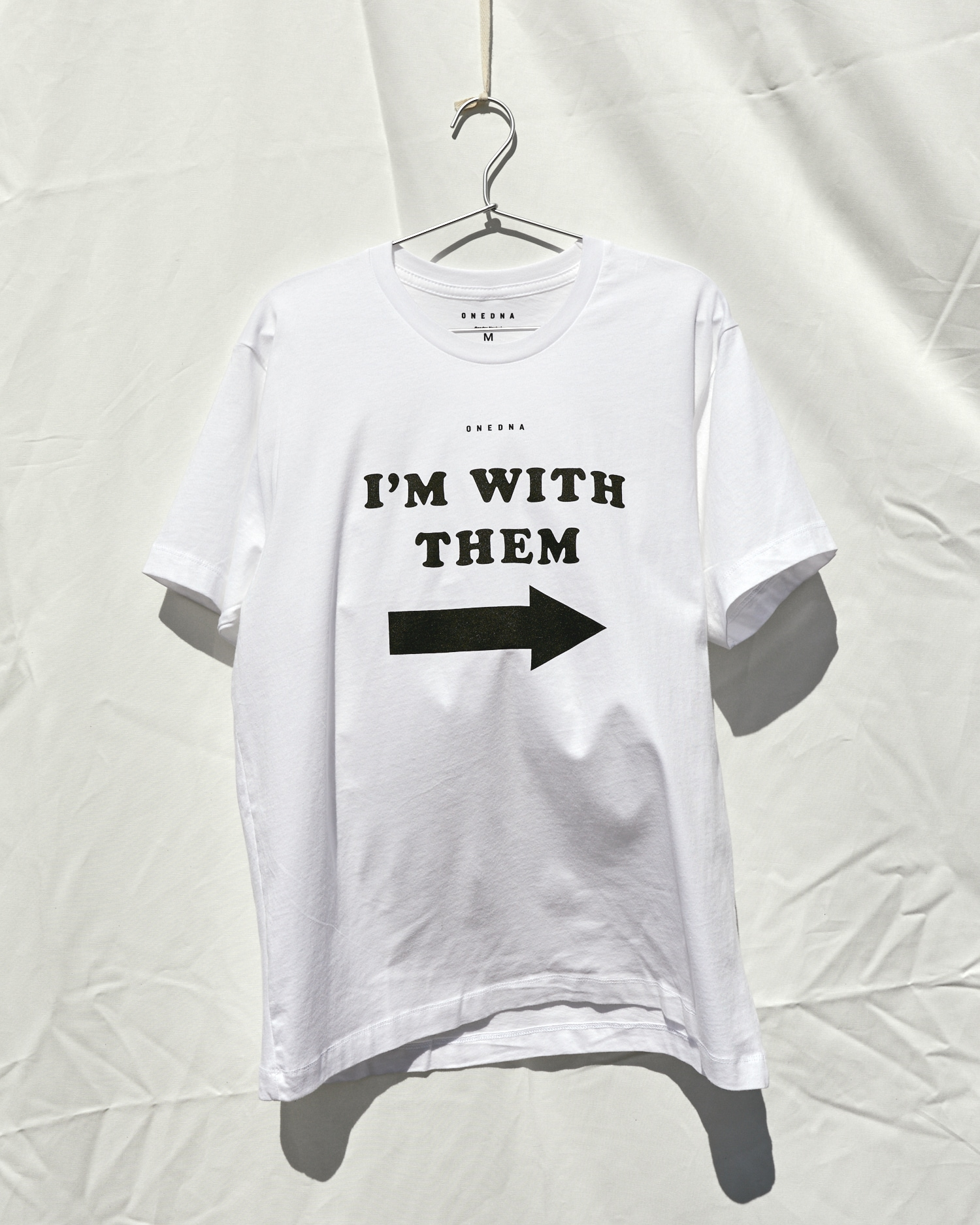 Shop Non Binary I'm With Them T-shirt By Genderless Fashion Brand One DNA