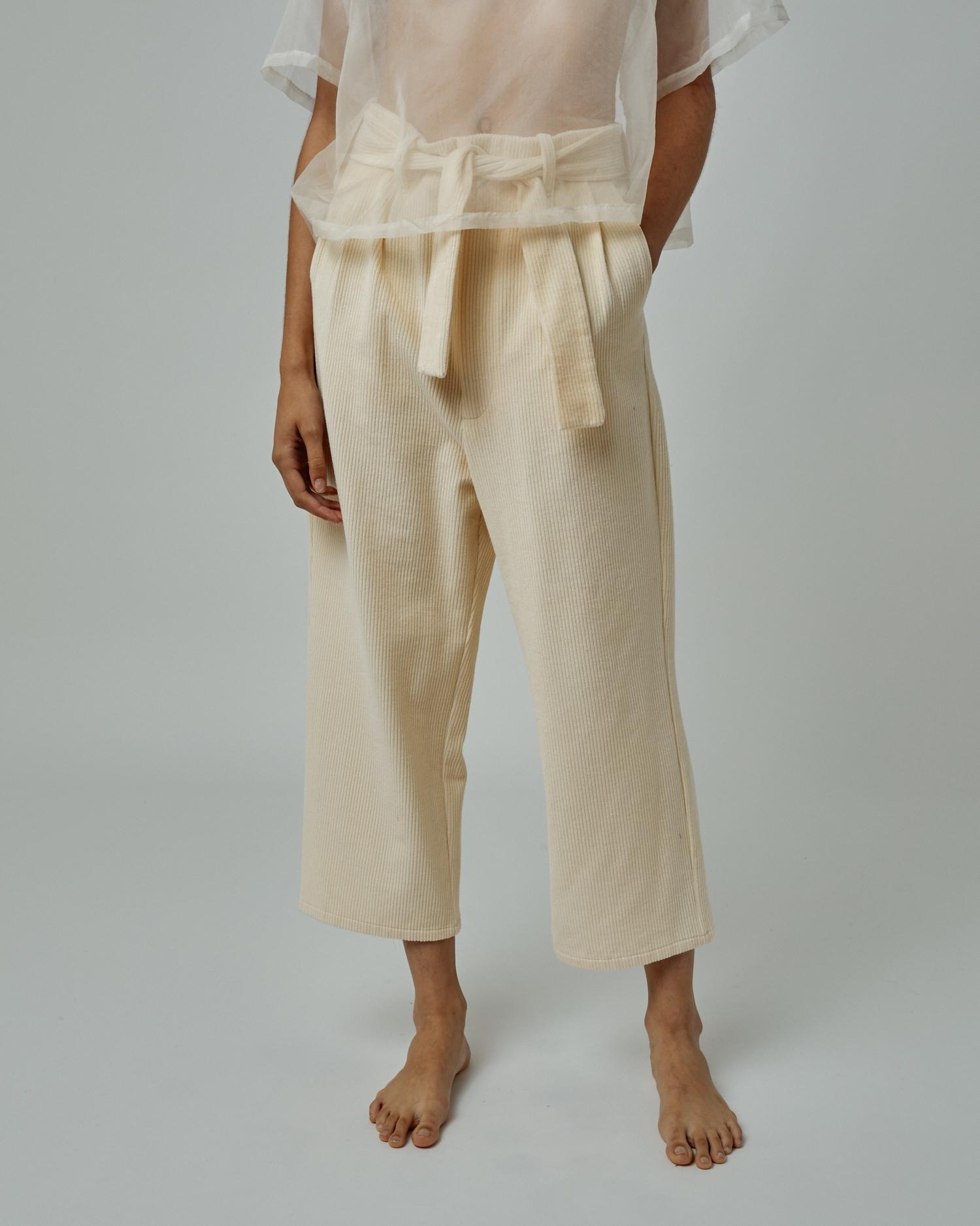 Shop Gender Neutral Wide Leg Pant In Corduroy