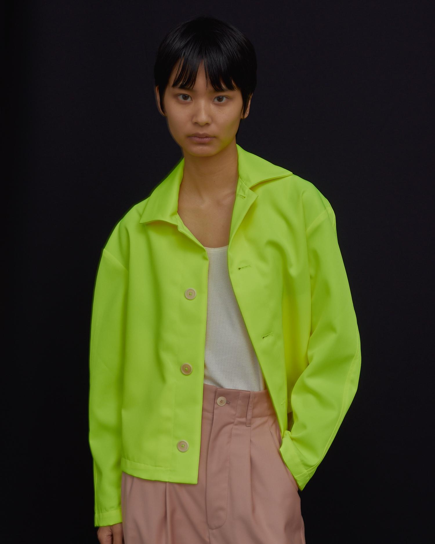 Shop Designer Work Jacket In Hi Viz