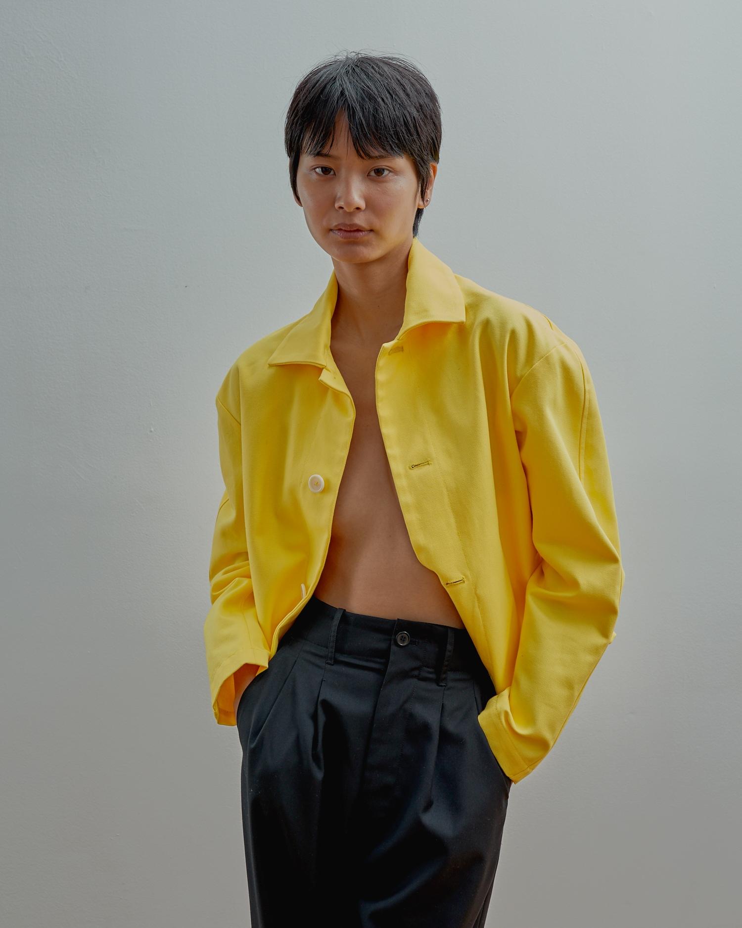 Shop Gender Neutral Apparel. Yellow Jacket.