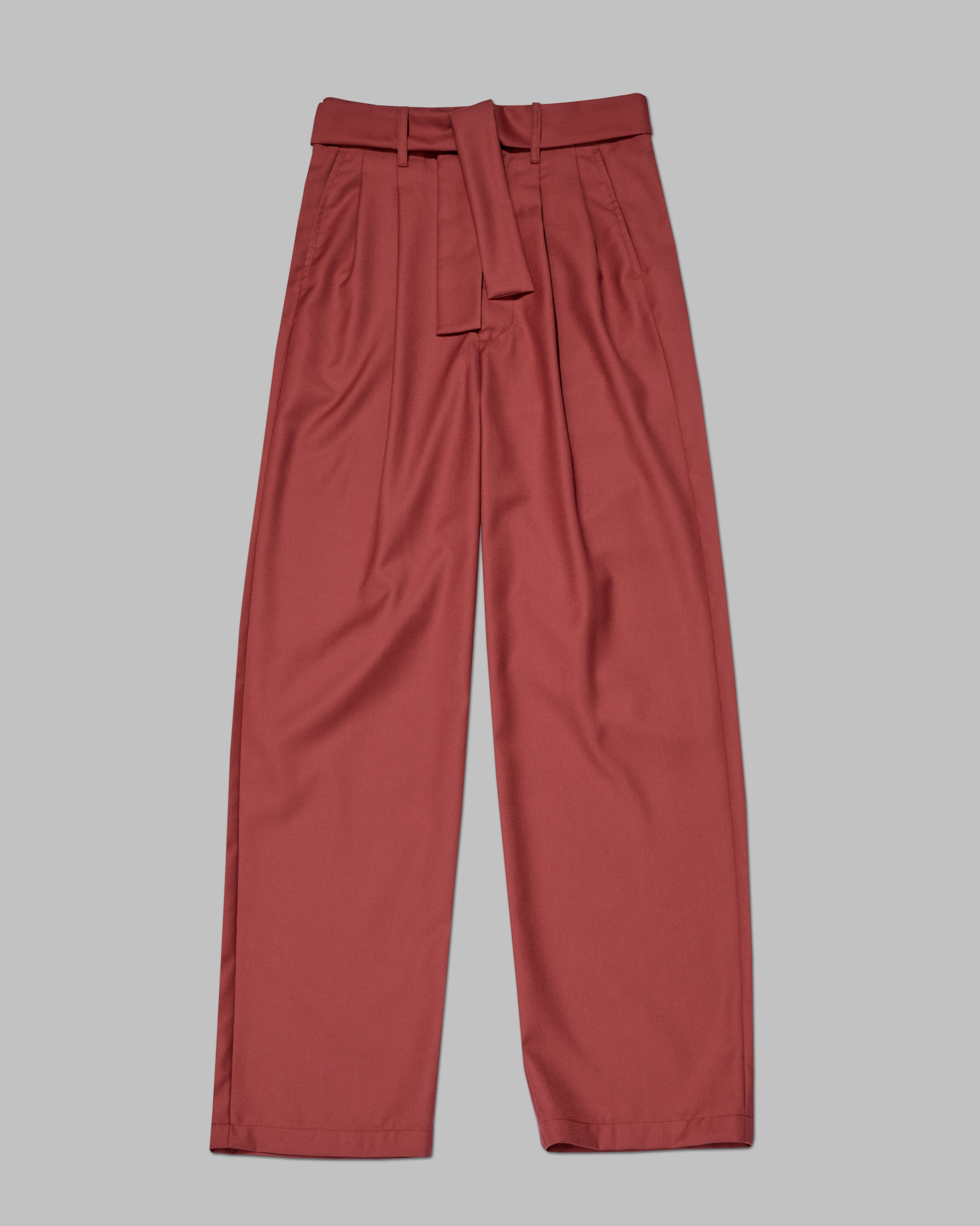 Shop Luxury Basics By One DNA. Unisex Pant. Red.