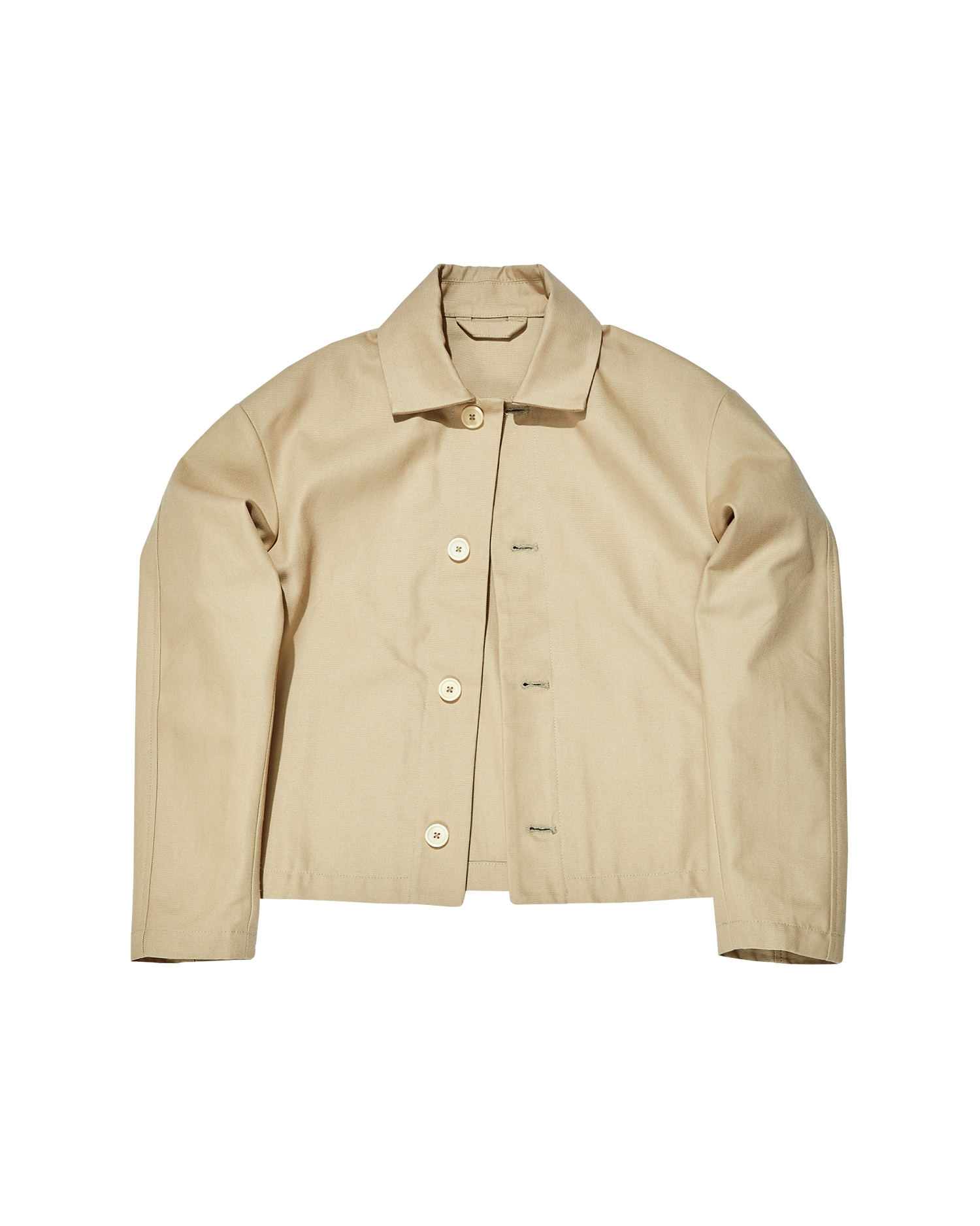 Shop Khaki Worker Jacket In Duck Canvas. Made In USA.