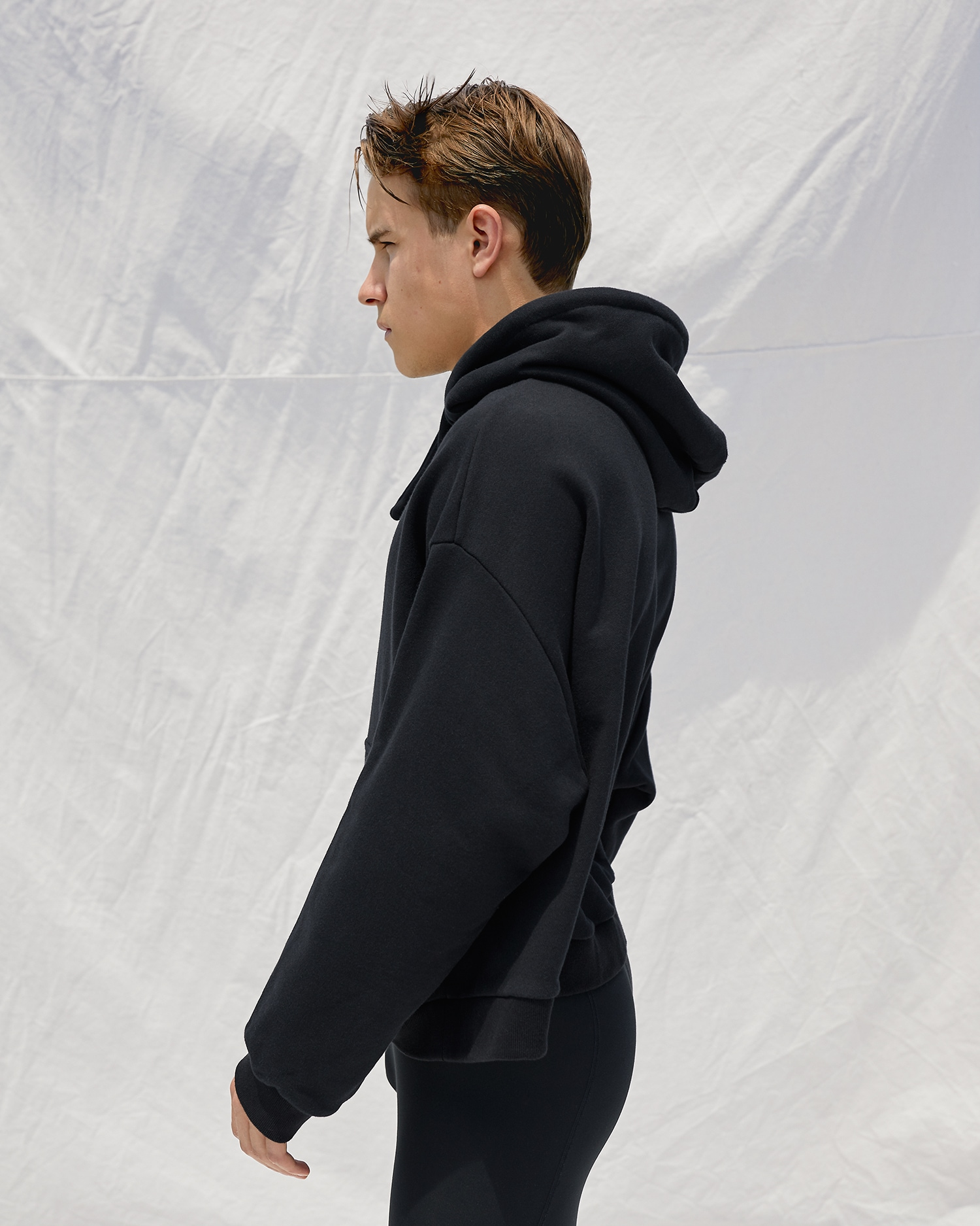 Shop Designer Oversized Hoodie. Unisex. Black.