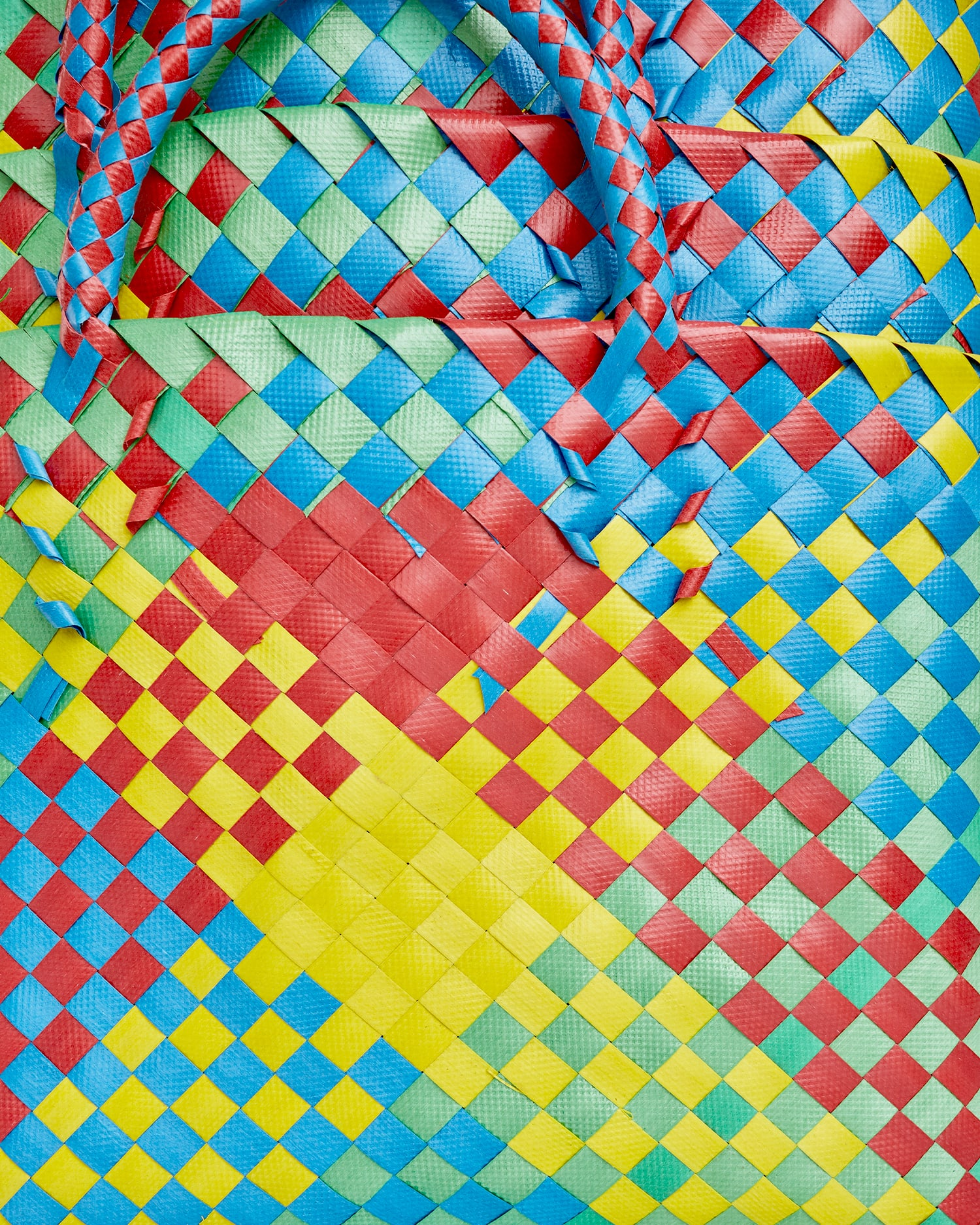 Shop Market Bags in Colorful Basketweave Patterns