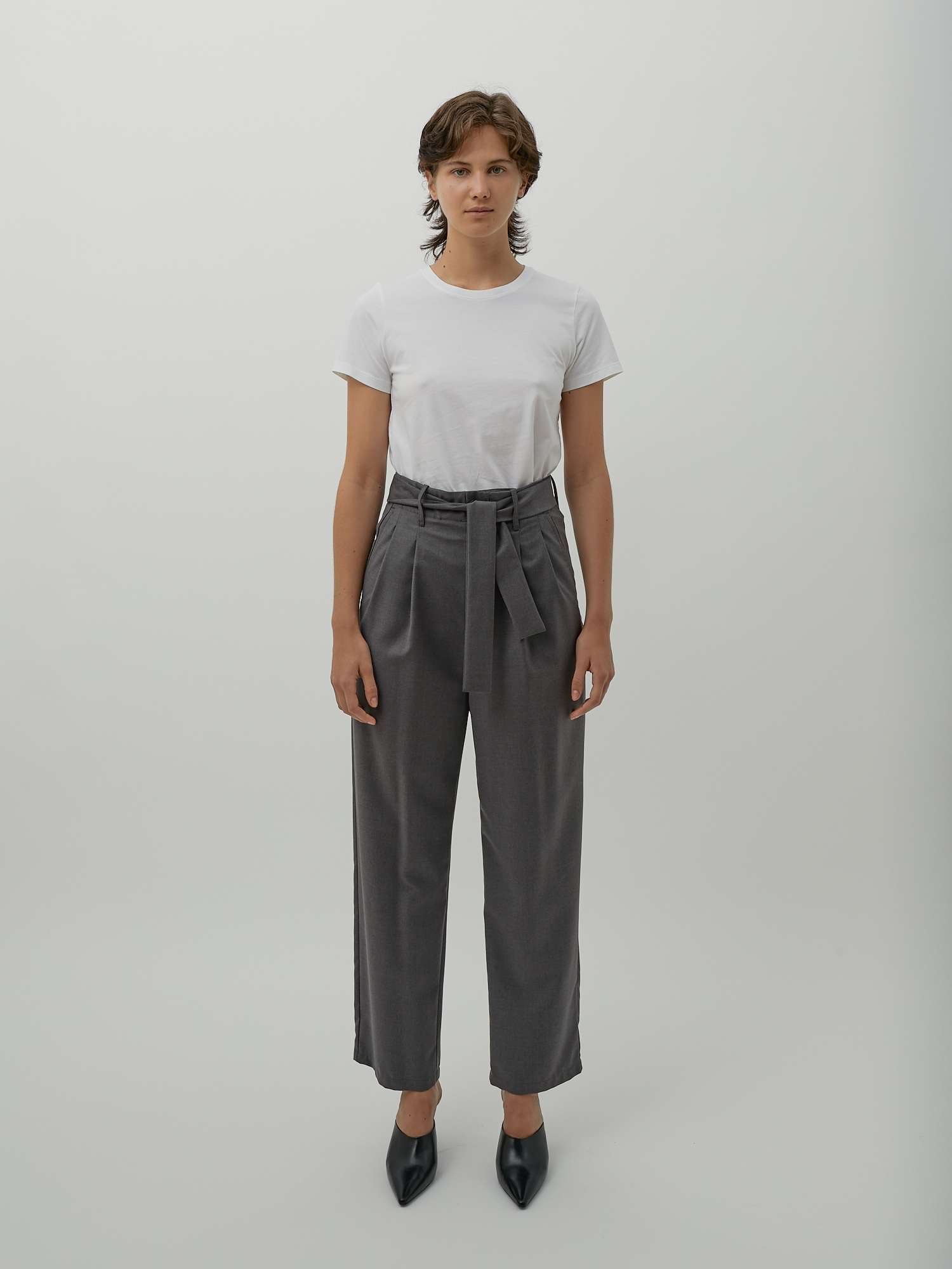 Shop Designer High Waisted Wide Leg Pants