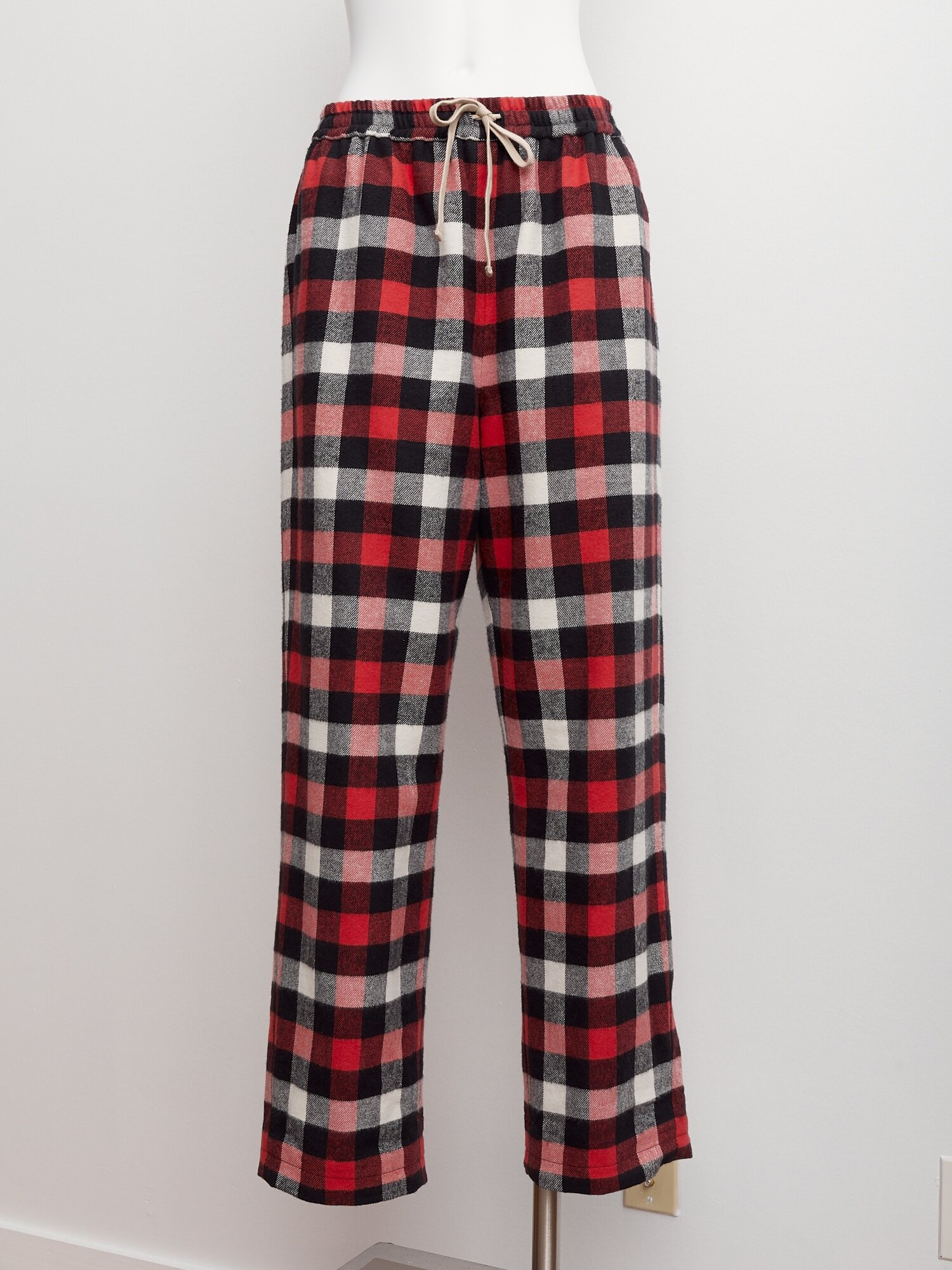Shop Red Flannel Pants. Lined.