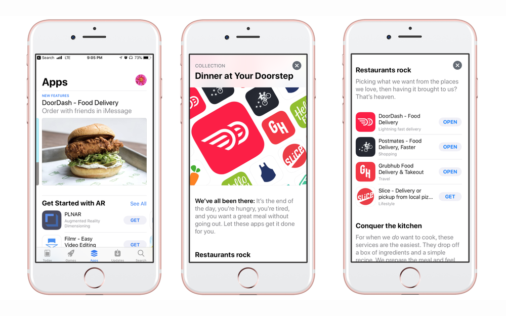 DoorDash Mobile Group Orders — Ryan Scott