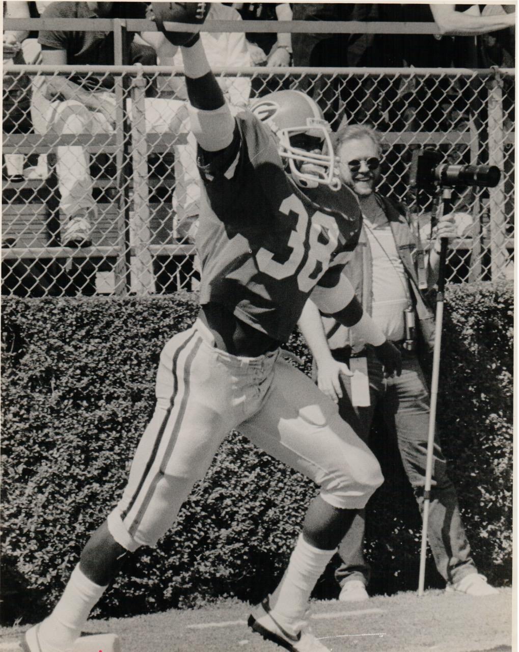 Image courtesy of University of Georgia Athletic Dept.