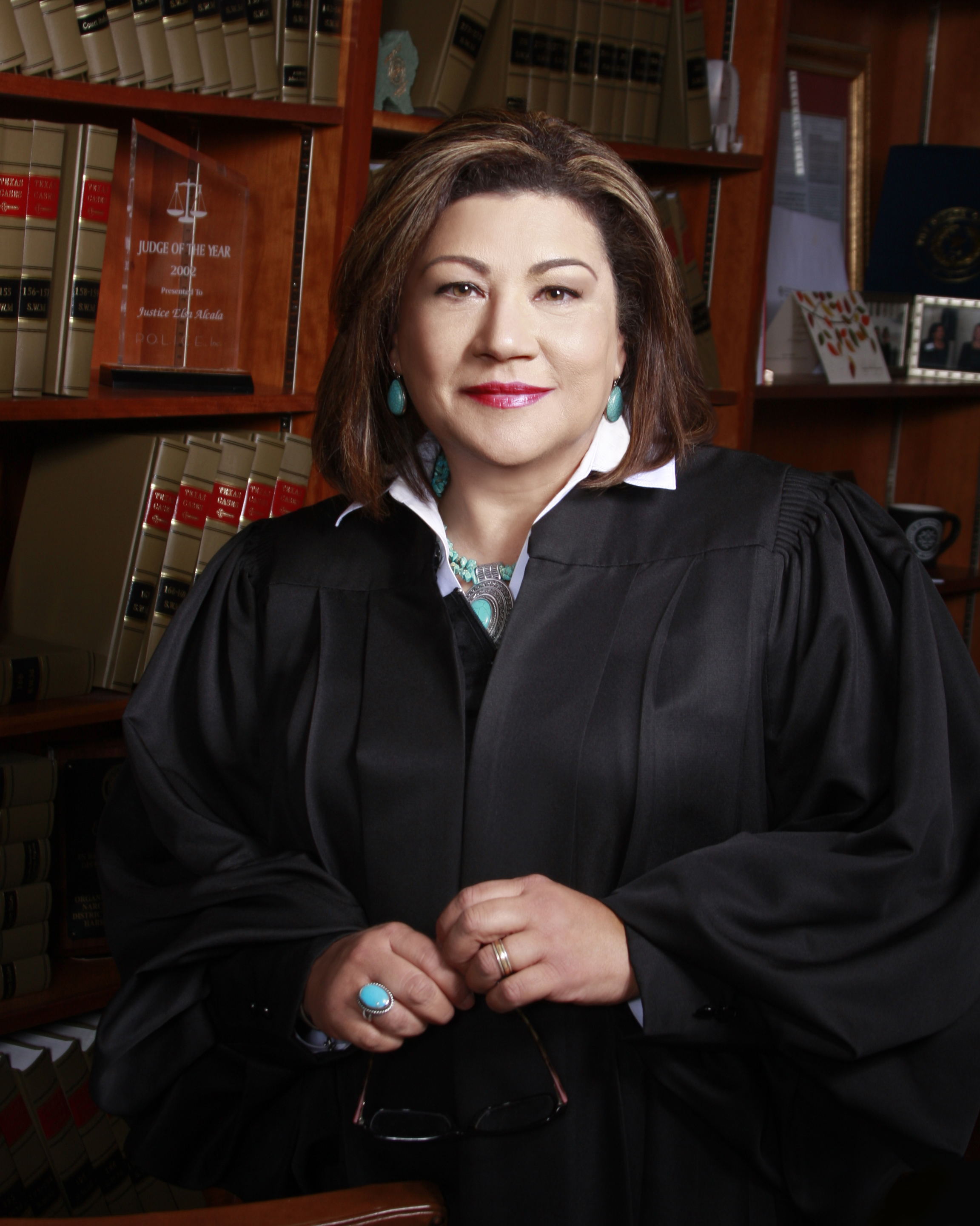 Elsa Alcala | Member - Elsa Alcala is currently a self-employed attorney. In 2018, she retired from the judiciary after twenty years as a state judge in Texas. Most recently, Alcala was a judge on the Texas Court of Criminal Appeals, the state's supreme court for criminal cases. She was appointed by Governors Perry and Bush to each of the three courts she served as a judge and she won four elections to retain those positions. Before becoming a judge, Alcala was an assistant district attorney for nine years at the Harris County District Attorney's Office. Alcala has a JD from the University of Texas.
