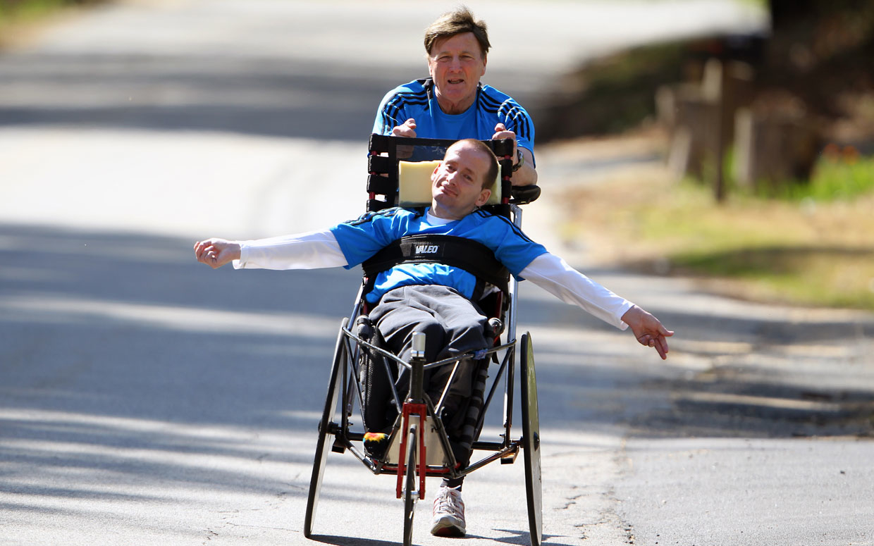 # 20 (S2) Dick Hoyt from Team Hoyt Foundation - One of my personal hero's who has inspired me to do the impossible. Join us today to hear a message of inclusion from Dick Hoyt and helping is son overcome the difficulties of cerebral palsy as they have competed in races, like Ironmans, all over the world.