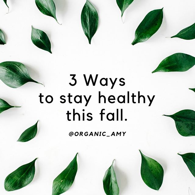 """Wanna stay healthy this fall? 🤔 Here are 3 simple steps on what to do when you start to feel run down.  1. Cut the Sugar ❌  Eating or drinking too much sugar curbs immune system cells that attack bacteria. This effect lasts for at least a few hours after downing a couple of sugary drinks. Eat more fruits and vegetables, which are rich in nutrients like vitamins C and E, plus beta-carotene and zinc.  2. Sleep 😴  During sleep, your immune system releases proteins called cytokines, some of which help promote sleep. Certain cytokines need to increase when you have an infection or inflammation, or when you're under stress. The optimal amount of sleep for most adults is seven to eight hours of good sleep each night. Generally, kids at age four need a total of about 10 to 12 hours of sleep each day. Children 6 to 12 years of age should sleep 9 to 12 Teenagers 13 to 18 years of age should sleep 8 to 10 hours.  3. Vitamin D3 ☀️ According to a recent medical study's """"It is now clear that vitamin D has important roles in addition to its classic effects on calcium and bone homeostasis. ... Vitamin D can modulate the innate and adaptive immune responses. Deficiency in vitamin D is associated with increased autoimmunity as well as an increased susceptibility to infection."""" A simple blood test can show if you are deficient."""