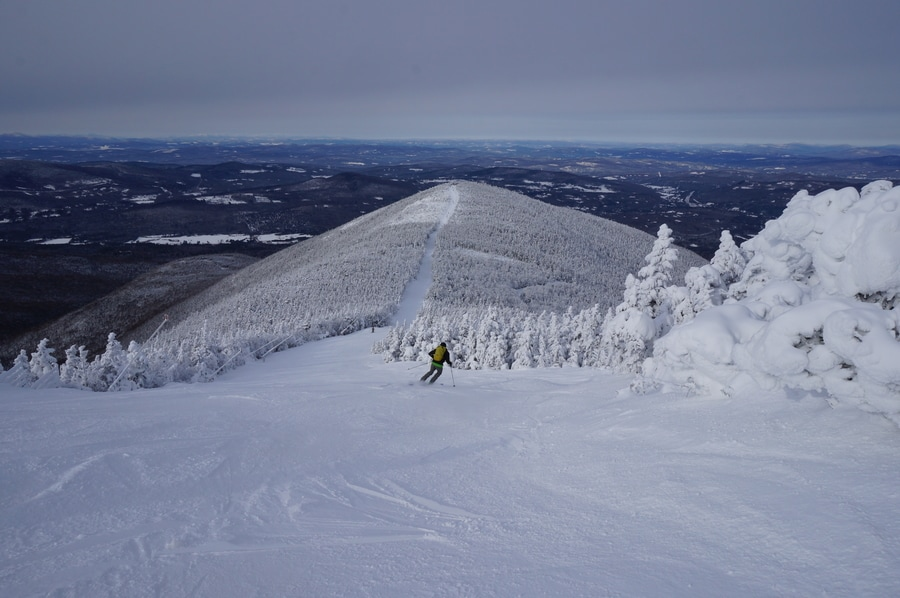 The Cold Heart of New England Skiing