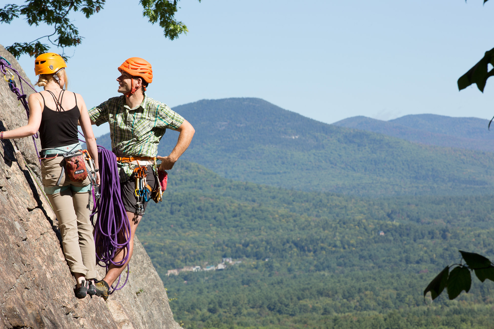 Guide's Pick: Layering for Fall Rock Climbing