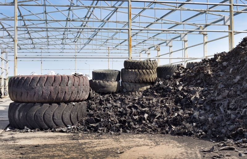 In Re-tire-ment: Recycling and Reusing Scrap Tires