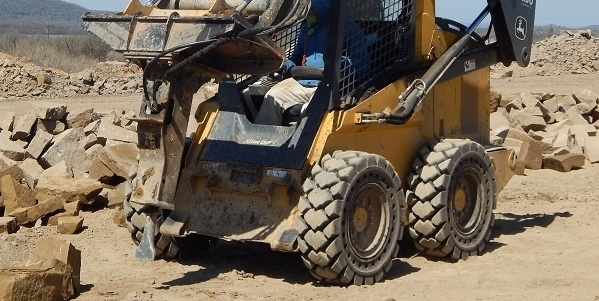 Solid Skid Steer Tires and Your Bottom Line