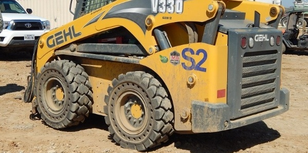 Fall into skid steer tire sales this October