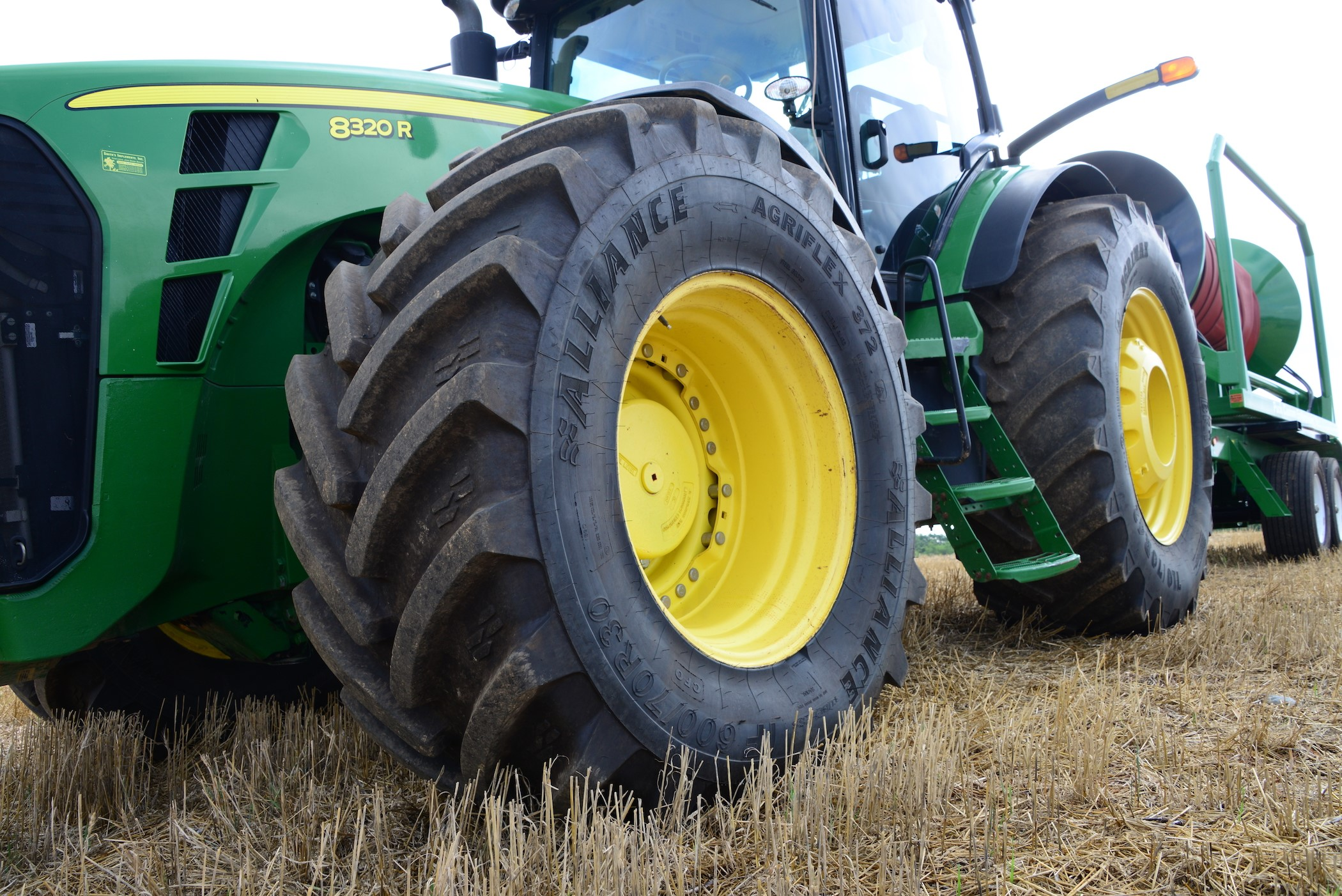 Finding a Farm Tire's Optimal Footprint