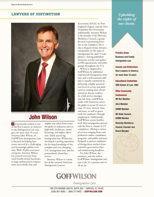 Gulfshore Business Magazine