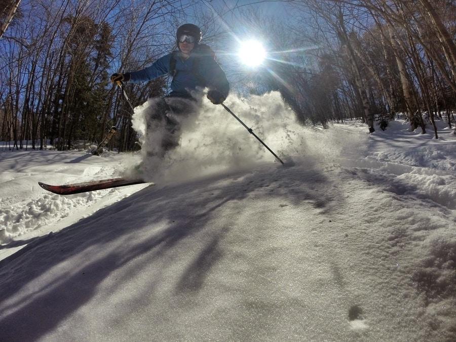 Adventure Skiing in Boston's Backyard