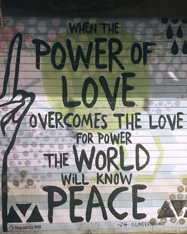 The power of love ❤️ #love #loveoverpower #peace