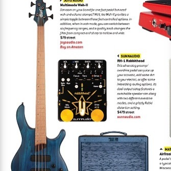 June 2019 Premier Guitar issue - RH-1 gear mention \../