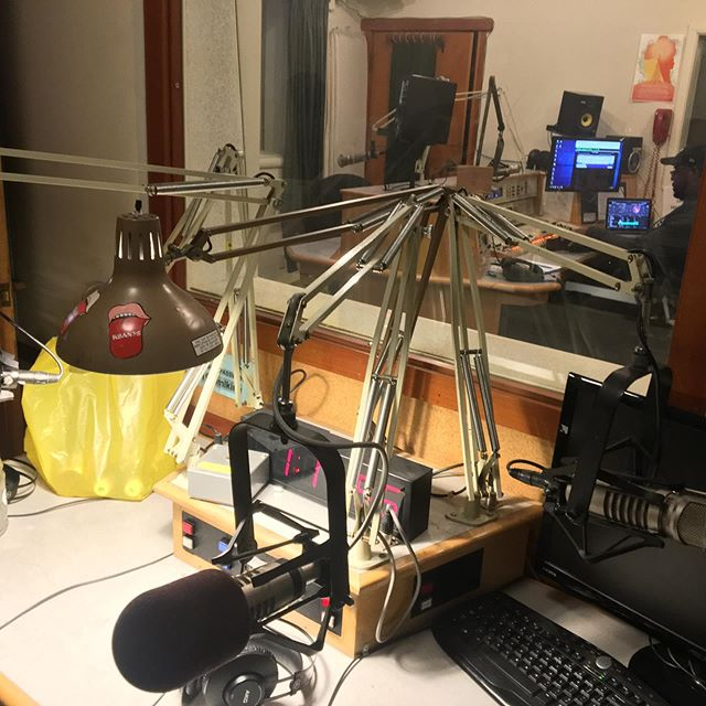 Live on KPFA talking about the Sunnaudio products used on @dvarg510, @elementalbeats