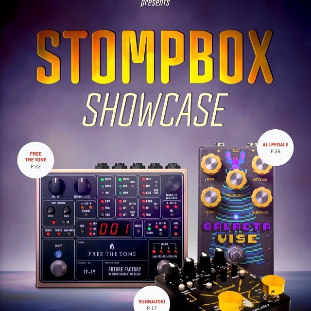 The Rabbithead RH-1 featured in the 2019 October Stompbox Showcase.