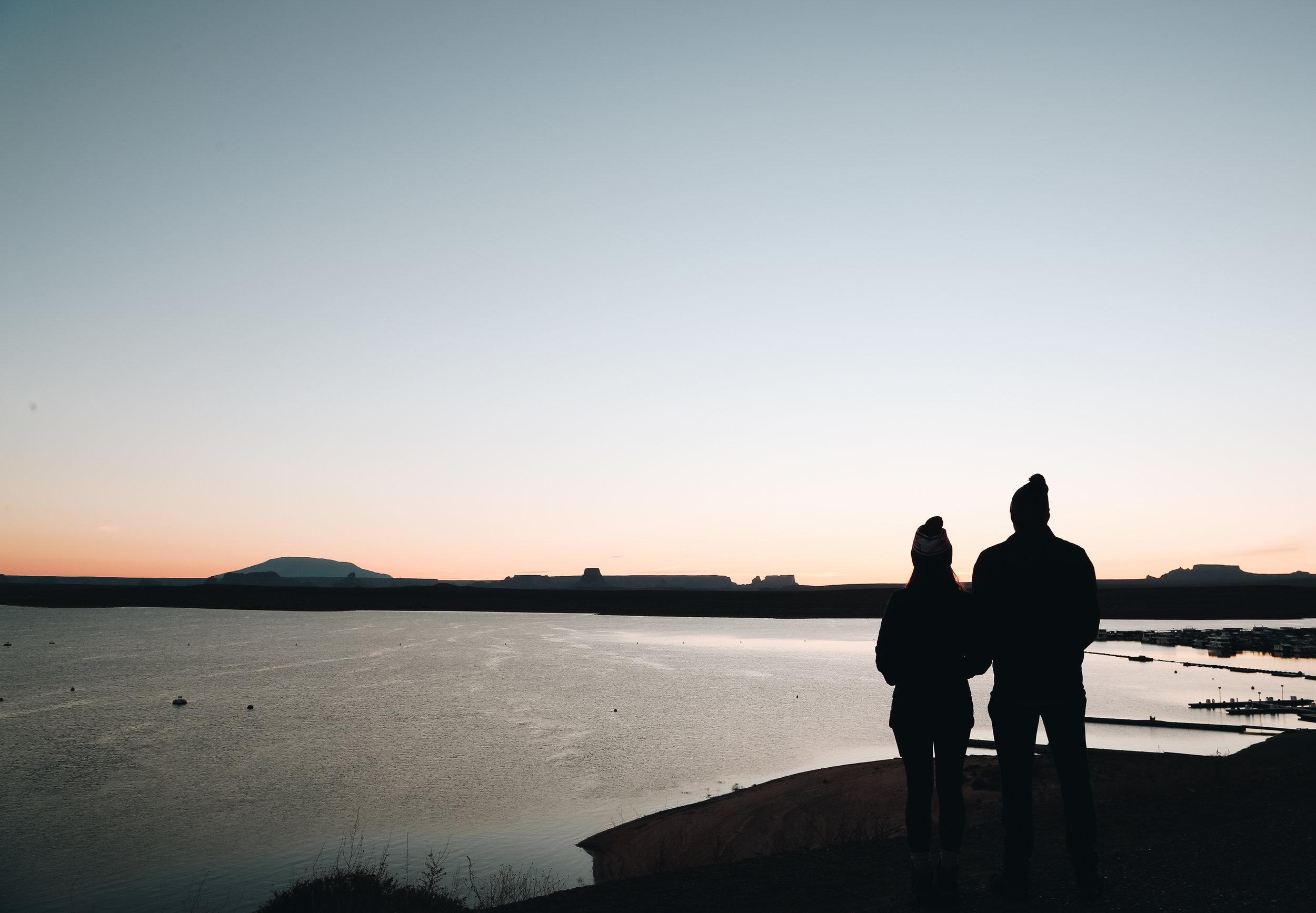 Lake Powell Sunrise