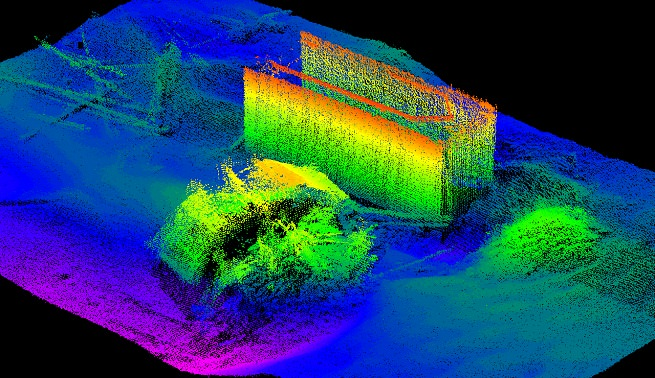 High-resolution point cloud for structural assessment