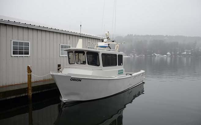 Survey Vessel Orion - Coastal survey vessel Orion is used to conduct multibeam hydrographic surveys to International Hydrographic Organization (IHO) Special Order standards.