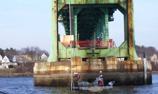 DOT - Substructure provides departments of transportation (DOTs) with inspection information and marine rehabilitation services for marine structures under their purview.