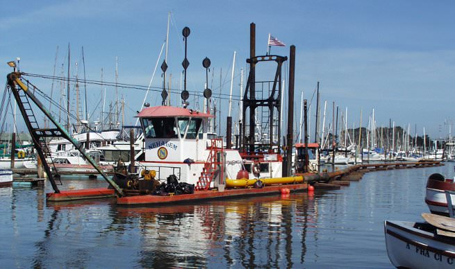 Dredging - Substructure has years of experience working with and supporting dredging companies.
