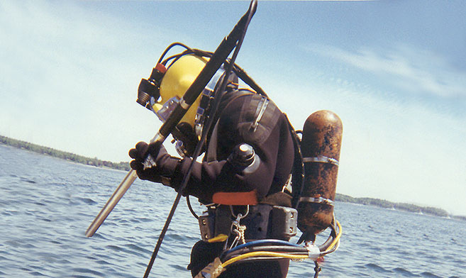Commercial Diving   15,000 Man Hours of Diving Operations   Learn More