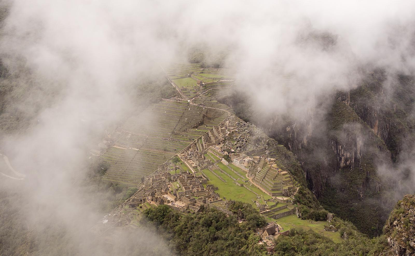 Machu Picchu Overhead